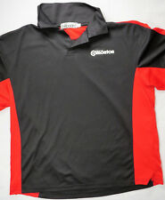 BILLBOARD Mens Polo Shirt Alberta Edmonton Maintenance Large Black/Red New