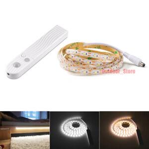 New LED Strip Light Wireless PIR Motion Sensor Stair Cabinet Lamp cupboard Light