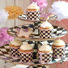 MacKenzie-Childs Courtly Check Cupcake Cups-Set of 24