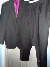 """Savile row company smart black 2-piece suit chest size 42"""" waist 36"""""""