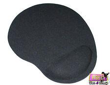 Resto De Pulsera Negro alfombra de gomaespuma Comodidad Soporte Pad Mouses Ópticos Para PC Laptop