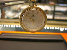 VINTAGE OMEGA SWISS POCKET WATCH- PRE OWNED 14 KARAT YELLOW GOLD MECHANICAL WOW