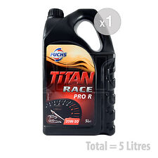 Car Engine Oil Service Kit / Pack 5 LITRES Fuchs Titan Race Pro R 20W-50 5L