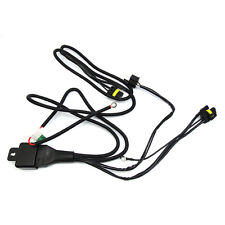 H4/9003 BI Xenon HID Relay Wiring Harness W/ Fuse Dual beam Hi-Low, W2