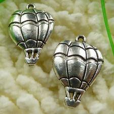 Free Ship 55 pieces tibetan silver Hot air balloon charms 25x17mm #483
