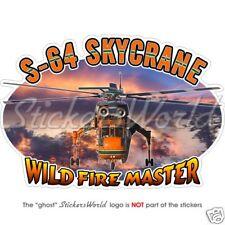 SIKORSKY SKYCRANE FireFighter CH-54 TARHE Sticker Decal