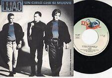 LIJAO disco 45 giri MADE in ITALY 1990 SANREMO Un cielo che si muove