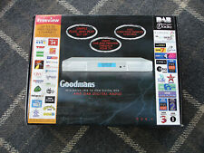Goodmans GDB5 - Freeview And DAB Digital Receiver / Tuner - Unique
