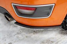 Cup Diffusor schwarz Ford Focus ST MK2 Heck Ansatz hinten Heck FLap Splitter