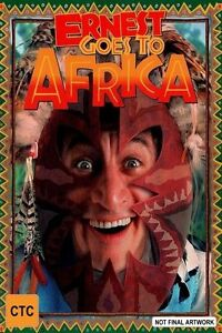 Ernest Goes To Africa DVD