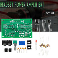 Stereo Headphone Amplifier Dual-Headset Strong Power Amp Preamp DIY Kit  !