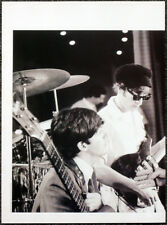 THE BEATLES POSTER PAGE . LENNON MCCARTNEY 1964 ED SULLIVAN SHOW REHEARSALS .U34
