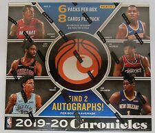 2019-20 Panini Chronicles Basketball Sealed Hobby FOTL