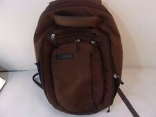 REI EXPANDABLE BACKPACK DAY PACK BAG BOOKBAG BROWN