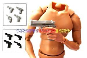 "1PC 1/6 Scale PPK Desert Eagle M1935 Hand Gun For 12"" Action Figure SWAT Pistol"