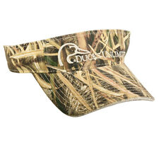 VISOR Ducks Unlimited Shadow Grass BLADES Camo Camouflage Hunting-- New Pattern
