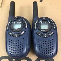 COBRA Microtalk PR100 Two Way Radio Walkie Talkie Pair - Tested 7.H1