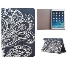 White Carved Flip Stand Leather Case Cover For iPad Mini 1 2 3 Retina Elegant