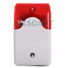 Sound and Light Alarm Warning Mini Strobe Siren DC 12V For Access Control System