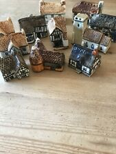 Britain In Miniature Tey Model Houses/cottages Job Lot.