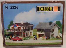 C13) maison d habitation faller 2224 train electrique echelle N