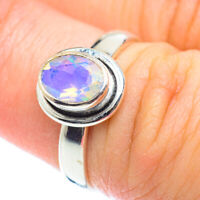 Ethiopian Opal 925 Sterling Silver Ring Size 6.5 Ana Co Jewelry R53462