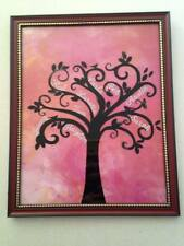 Family Tree Picture In 8 X 10 Frame With Names Of Family