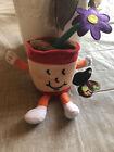 Vintage eBAY Foundation Flower Pot Collectible Plush Bean Bag Grant 1998 Rare!