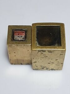 A Qing Dynasty Bronze Lien Poh set