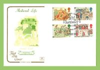 G.B. 1986 Medieval Life set on Cotswold u/a  First Day Cover, Domesday, London