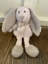 CARD FACTORY tiny treasures BUNNY RABBIT SOFT TOY Comforter PINK TOWELLING NEW
