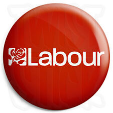 Labour Party Logo - 25mm Button Badge - General Election Political Party Support
