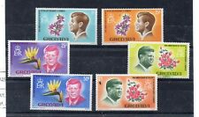 Granada Flores Personajes Kennedy serie del año 1968 (DR-270)