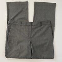 Ann Taylor womens pants sz 18T trouser leg ANN classic fit gray black  new