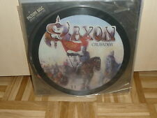 "SAXON crusader 12"" Picture LP"