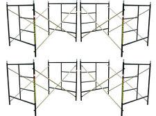 "A set Four Brand New Flip Lock 5' X 5'1"" X 7' Masonry Scaffolding Frame Sets CBM"