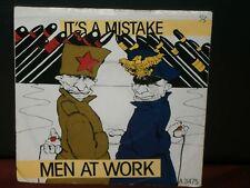 """MEN AT WORK - IT'S A MISTAKE / SHINTARO 1983 A 3475 EPIC / CBS RECORDS 7"""" VINYL"""
