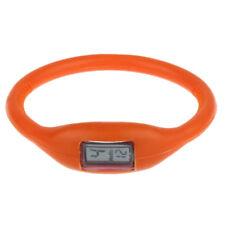 Fashion Women Men Leather Stainless Steel Analog Quartz Unisex Sport Wrist Watch