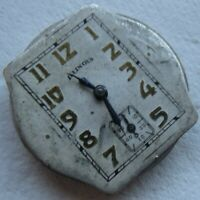 Illinois caliber 607A mens wristwatch movement & dial load manual