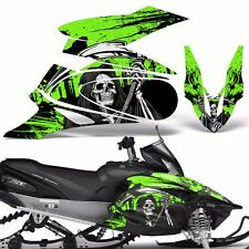 Yamaha APEX Decal Wrap Graphic Kit XTX Part Sled Snowmobile 2006-2011 REAP GREEN