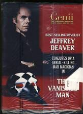 Jeffrey Deaver Genii Conjurors Magazine Magicians Aug 2003 Still in shipping bag