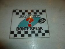 CLUELESS? - Don't Speak - 1997 UK 8-track CD single
