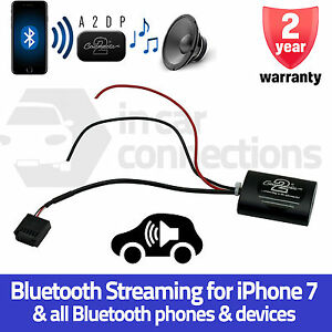 CTAFD1A2DP Ford Mondeo A2DP Bluetooth music streaming adapter iPhone 7 car AUX