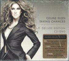 CELINE DION - TAKING CHANCES 2007 EU CD/DVD PAL GATEFOLD DIGIPAK FACTORY SEALED