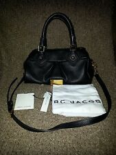 MARC JACOBS-Classic Q Baby Groovee Leather Satchel BLACK-AUTHENTIC-NWT-Dustbag