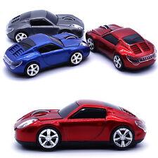 Inalámbrico De 2.4 ghz 1600dpi 3d Rojo Porsche Car Estilo Optical Usb Gaming Mouse Reino Unido