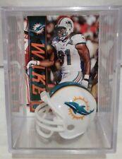 Cameron Wake Miami Dolphins Mini Helmet Card Display Case Collectible DE Auto