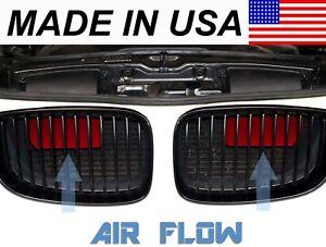 AVT Air Intake Scoops e81/e82/e88 BMW 1 Series(128i/135i/1m) 2008-2015 Red