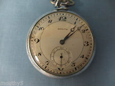 ZENITH POCKET WATCH KEEPS GREAT TIME #3094502