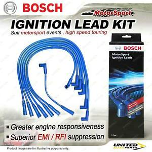 Bosch Motor Sport Ignition Leads for Ford Falcon Fairmont EA EB ED XG XH